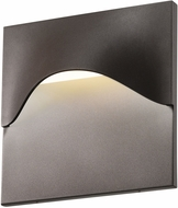 Sonneman 7237.72.WL Tides Contemporary Textured Bronze LED Indoor/Outdoor Lighting Wall Sconce