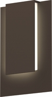 Sonneman 7264.72.WL Reveal Modern Textured Bronze LED Exterior Lamp Sconce