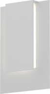 Sonneman 7264.98.WL Reveal Modern Textured White LED Exterior Wall Light Fixture