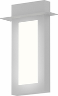 Sonneman 7270.98.WL Prairie Modern Textured White LED Exterior Sconce Lighting