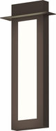Sonneman 7272.72.WL Prairie Contemporary Textured Bronze LED Outdoor Light Sconce