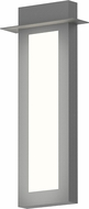Sonneman 7272.74.WL Prairie Modern Textured Gray LED Exterior Lighting Sconce