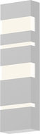 Sonneman 7287.98.WL Jazz Notes Modern Textured White LED Exterior Lamp Sconce