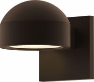 Sonneman 7300.DC.PL.72.WL REALS Contemporary Textured Bronze LED Outdoor Wall Lighting