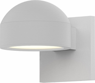 Sonneman 7300.DC.PL.98.WL REALS Contemporary Textured White LED Outdoor Light Sconce