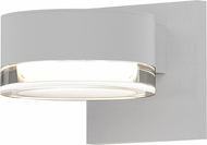 Sonneman 7300.PC.FH.98.WL REALS Contemporary Textured White LED Outdoor Wall Lighting Sconce