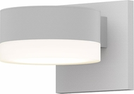 Sonneman 7300.PC.FW.98.WL REALS Modern Textured White LED Exterior Wall Light Sconce