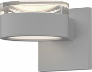 Sonneman 7302.FH.PL.98.WL REALS Contemporary Textured White LED Outdoor Lamp Sconce