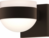Sonneman 7302.FW.DL.72.WL REALS Modern Textured Bronze LED Exterior Wall Sconce Lighting