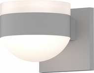 Sonneman 7302.FW.DL.98.WL REALS Modern Textured White LED Exterior Lighting Wall Sconce