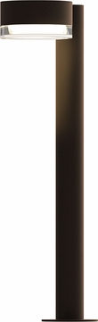 Sonneman 7304.PC.FH.72.WL REALS Modern Textured Bronze LED Exterior Bollard Landscaping Light