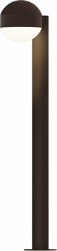 Sonneman 7305.DC.DL.72.WL REALS Modern Textured Bronze LED Exterior Bollard Landscape Lighting