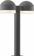 Sonneman 7306.DC.FW.74.WL REALS Contemporary Textured Gray LED Outdoor Landscape Lighting Fixture