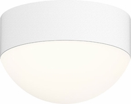 Sonneman 7309.XX.DL.98.WL REALS Modern Textured White LED Exterior Flush Mount Ceiling Light Fixture