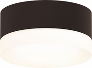 Sonneman 7309.XX.FW.72.WL REALS Modern Textured Bronze LED Exterior Ceiling Lighting