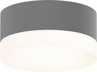 Sonneman 7309.XX.FW.74.WL REALS Contemporary Textured Gray LED Outdoor Ceiling Light