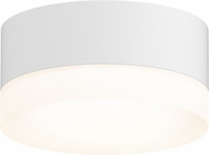 Sonneman 7309.XX.FW.98.WL REALS Modern Textured White LED Exterior Ceiling Light Fixture