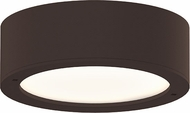 Sonneman 7309.XX.PL.72.WL REALS Contemporary Textured Bronze LED Outdoor Ceiling Lighting Fixture