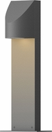 Sonneman 7311.74.WL Shear Contemporary Textured Gray LED Outdoor Landscape Light