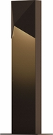 Sonneman 7321.72.WL Triform Compact Contemporary Textured Bronze LED Outdoor Landscape Lighting Design
