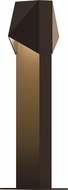 Sonneman 7325.72.WL Triform Compact Contemporary Textured Bronze LED Outdoor Landscaping Light