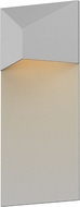 Sonneman 7330.98.WL Triform Contemporary Textured White LED Outdoor Wall Lighting