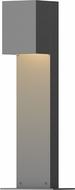 Sonneman 7341.74.WL Box Contemporary Textured Gray LED Outdoor Landscape Light