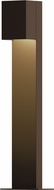 Sonneman 7342.72.WL Box Modern Textured Bronze LED Exterior Landscaping Light