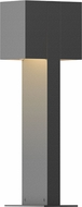 Sonneman 7345.74.WL Box Contemporary Textured Gray LED Outdoor Residential Landscape Lighting