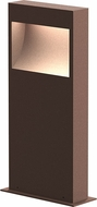 Sonneman 7361.72-WL Square Curve Modern Textured Bronze LED 16  Outdoor Bollard Landscape Lighting