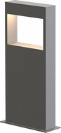 Sonneman 7365.74-WL Light Frames Contemporary Textured Gray LED 16  Exterior Bollard Residential Landscape Lighting