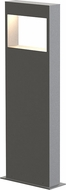 Sonneman 7366.74-WL Light Frames Contemporary Textured Gray LED 22  Exterior Bollard Landscape Light