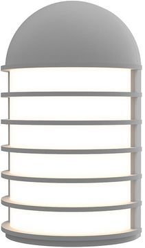 Sonneman 7400.74-WL Lighthouse Contemporary Textured Gray LED Exterior 9  Wall Lamp