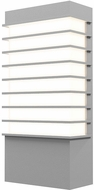 Sonneman 7412.74-WL Tawa Modern Textured Gray LED Exterior 13  Wall Lighting