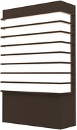 Sonneman 7414.72-WL Tawa Modern Textured Bronze LED Exterior 13  Wall Sconce Lighting