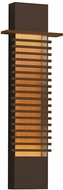 Sonneman 7418.72-WL Kengo Modern Textured Bronze LED Exterior 30  Wall Light Sconce