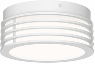 Sonneman 7420.98 Marue Contemporary Textured White LED 8  Ceiling Lighting Fixture