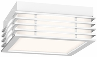 Sonneman 7425.98 Marue Contemporary Textured White LED 8  Home Ceiling Lighting