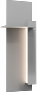 Sonneman 7434.74-WL Backgate Modern Textured Gray LED Exterior 20  Wall Sconce Lighting
