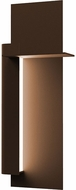 Sonneman 7436.72-WL Backgate Modern Textured Bronze LED Exterior 20  Wall Mounted Lamp