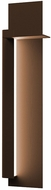 Sonneman 7437.72-WL Backgate Modern Textured Bronze LED Exterior 30  Wall Light Sconce