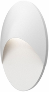 Sonneman 7462.98-WL Ovos Contemporary Textured White LED Exterior 16 Wall Sconce
