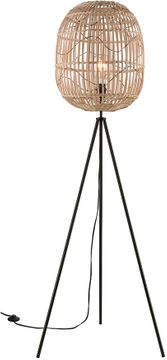Stein World 77197 Cold Spring Modern Oil Rubbed Bronze / Natural Floor Lamp
