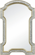 Sterling 1114-310 Val-de-Grace Antique Mirror / Gold Antiqued Glass with Cr�me Gold Mirror