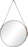 Sterling 1114-314 Well-Heeled Contemporary Tan / Gold Well-Heeled Wall Mirror