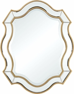 Sterling 1114-338 Cajun Queen Gold / Clear Mirror Mirror