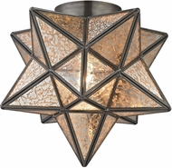 Sterling 1145-004 Moravian Contemporary Antique Mercury Ceiling Light
