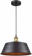 ELK Home 1217-1001 Growler Modern Rust And Antique Brass Drop Lighting