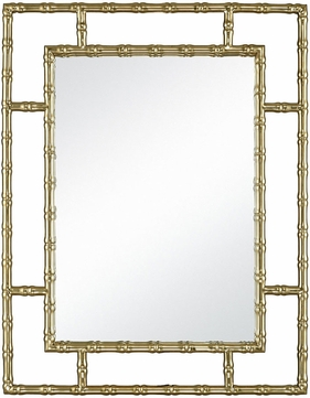 ELK Home 1218-1021 Grand Gold Plated Stainless Steel And Mirror Wall Mirror