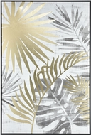 Sterling 1219-021 Coconut Grove Modern White / Grey / Gold Wall Decor